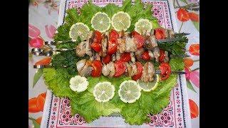 Шашлык из скумбрии / шашлик зі скумбрії / Маринад для шашлыка из рыбы / шашлик из рыбы
