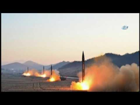 Kuzey Kore 4 Balistik Füze Fırlattı