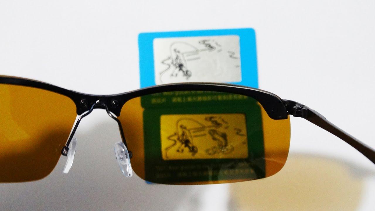 df69d2000 Teste Estrada Noite Óculos Nigth Vision Lente Laranja Polarizada ...