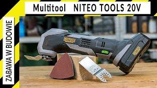 Multinarzędzie Niteo Tools 20v (multitool, narzędzie wielofunkcyjne) z Biedronki
