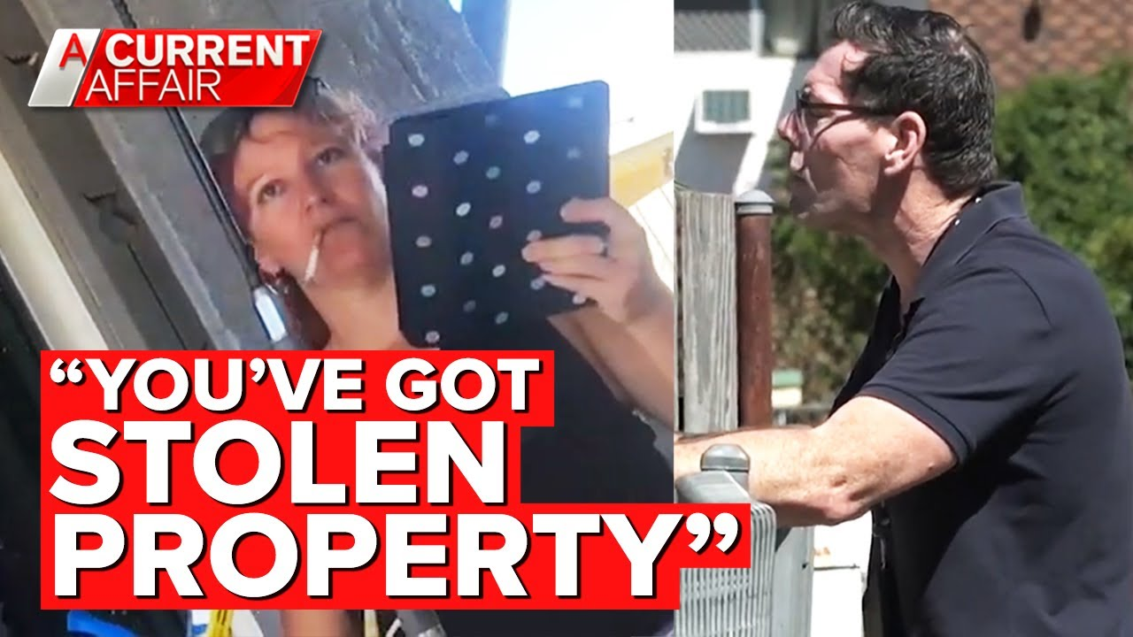 Furious uncle tracks down disabled nephew's stolen property   A Current Affair