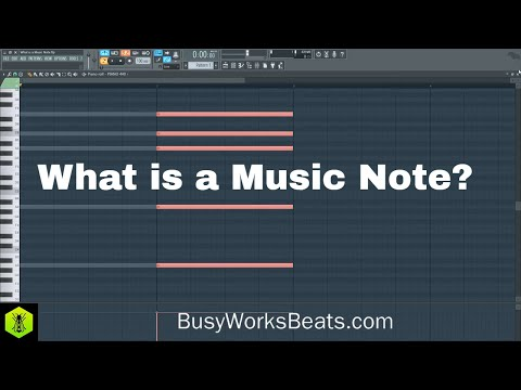 What is a Music Note?