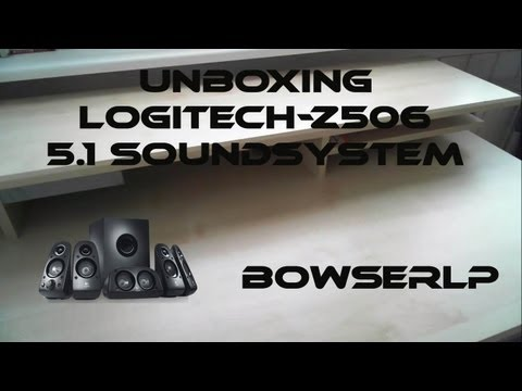 Logitech z506 Soround Sound System-5.1/Logitech Wireless Speaker Adapter_Unboxing-Review-Sound_Test