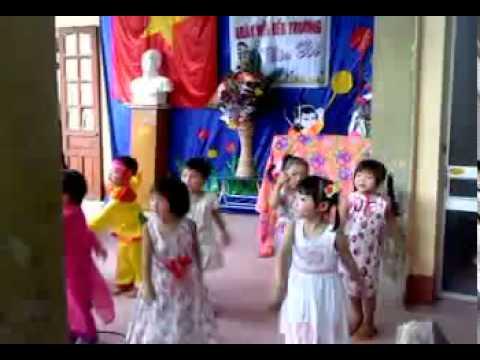 khai giảng năm học mới trường mầm non BÌNH GIANG - 2011_2012