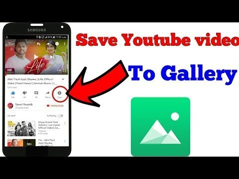 How to download offline videos from youtube to gallery