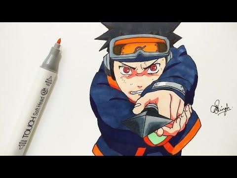 drawing-kid-obito---naruto-shippuden