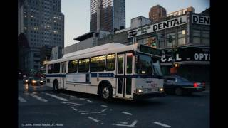MTA All Retired Buses And Subway Cars