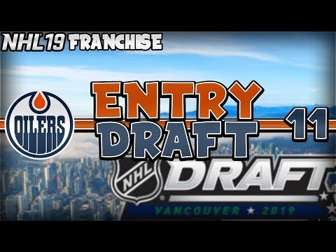 MY BEST DRAFT EVER!! CRAZY LOTTERY PICK LUCK! NHL 19 Edmonton Oilers Franchise Mode Episode 11