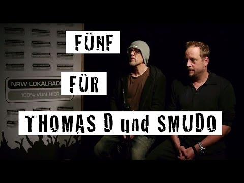 Fünf für Thomas D. & Smudo - das Interview ohne Fragen