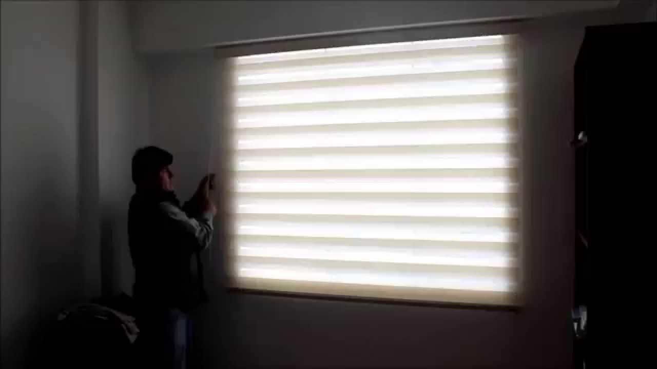 Cortinas roller zebra cortinas d a y noche cortinas - Persianas y cortinas ...