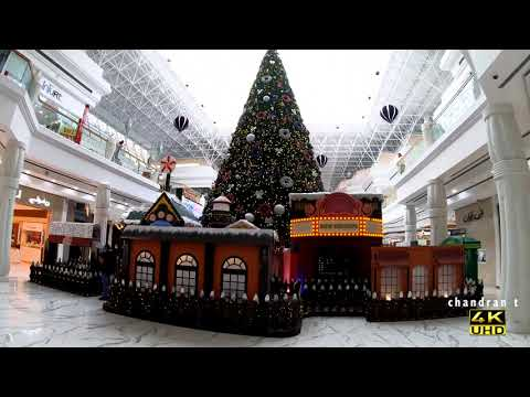 Christmas 2019 at Wafi Mall & Raffles Hotel, Dubai
