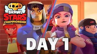 Brawl Stars Championship 2020 - March Finals - Day 1