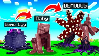 LIFE OF A DEMODOG IN MINECRAFT!
