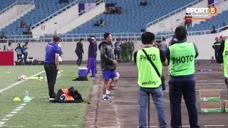 Trọng Hoàng bị thầy Park không cho khởi động trước trận gặp CHDCND Triều Tiên