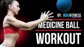 core medicine ball workout 2