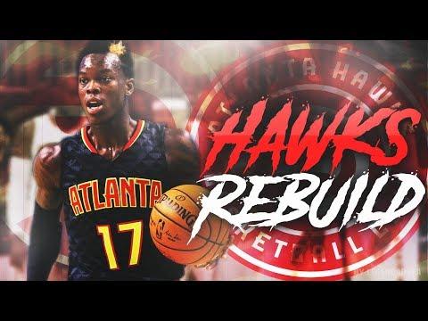 INSANE EPIC FINISH?!! ATLANTA HAWKS REBUILD!! NBA 2K18 MYLEAGUE