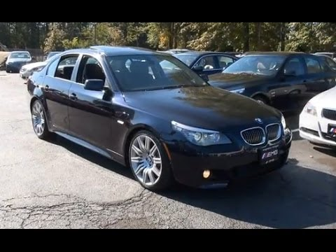 2008 BMW 5-Series 550i E60 Sports Package