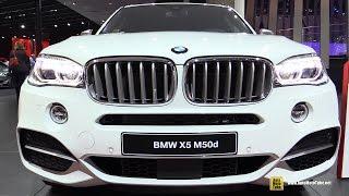 2016 BMW X5 M50d - Exterior and Interior Walkaround - 2015 Frankfurt Motor Show