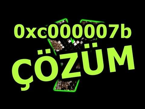 0xc000007b Hatası ve Çözümü
