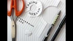 Taking Notes Blog Audio Video