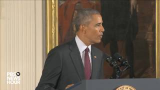 President Obama honors police officers with Medal of Valor