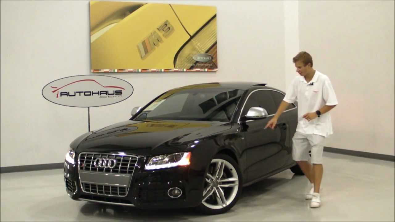 Iautohaus 2008 Black Audi S5 Hd Youtube
