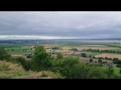 Mersey estuary from Frodsham Hill 4K