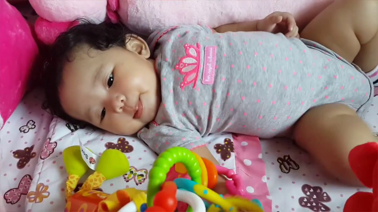 Bayi Perempuan Lucu Update 0 4 Bulan Youtube