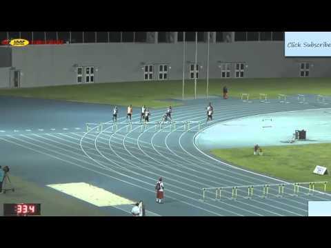 Johnny Dutch Wins Men's 400m Hurdles in 48.46s at Chris Brown Bahamas Invitational 2016