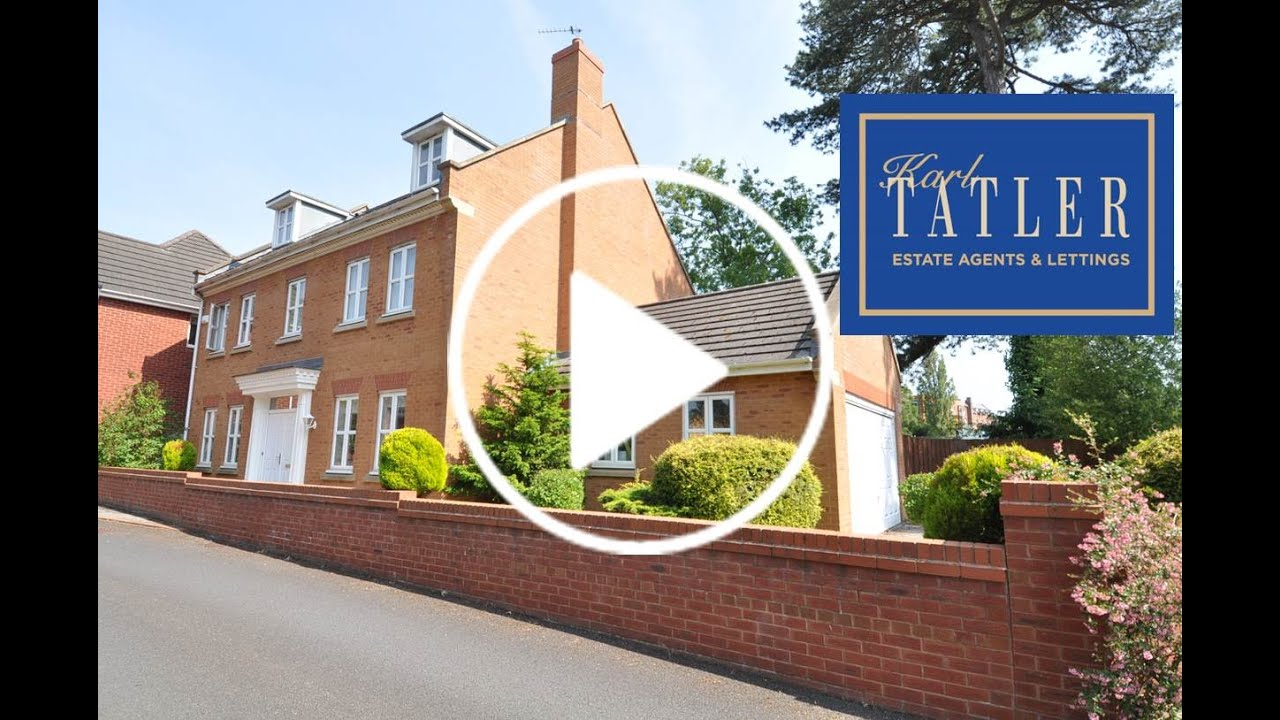 5 bedroom homes.  Karl Tatler Greasby 5 bedroom house for sale in Upton YouTube