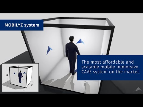 MOBILYZ, a scalable & affordable mobile immersive CAVE VR system
