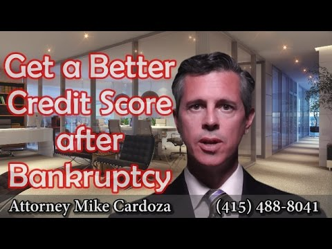 Get Better Credit Score After Bankruptcy