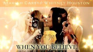 Whitney houston & mariah carey - when you believe (cover by ruth calixta cristina white)