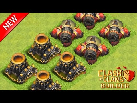 Clash Of Clans - NEW LEAKED UPDATE! Level 9 Mortars, Level 5 Dragon, Level 13 Cannon 2015