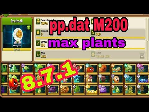 plants vs zombies hack full cây/max level - pvz2 Mod M200 pp.dat max plants 8.7.1 l Như vậy Zombie nó mới phục #Plantsgamer#pvz2update871#M200