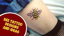 The Most Cutest Bee Tattoo Designs and Ideas