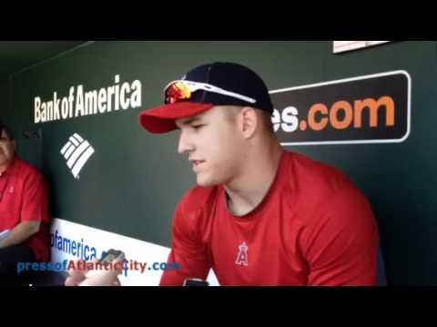 Mike Trout interview