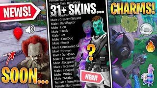 31+ Discovered Skins, Fortnite X IT Movie BEGUN, 10 Fortnite Charms, Zapper Trap! (Fortnite News)
