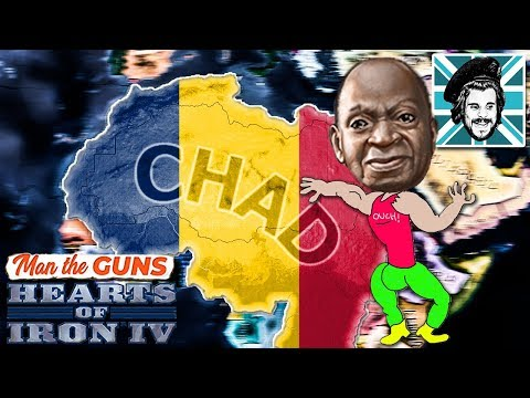 SUPER CHAD - Hearts of Iron IV Man The Guns |