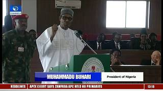 Buhari Commissions Legacy Projects In Ogun Pt.8