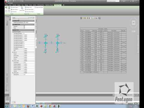 Duct Sizing in AutoCAD MEP 2012 and Custom Schedules from scratch.wmv