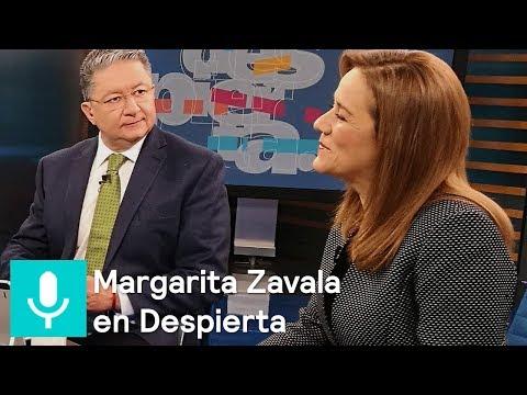 Margarita Zavala en la mesa de Despierta con Loret - Despierta con Loret