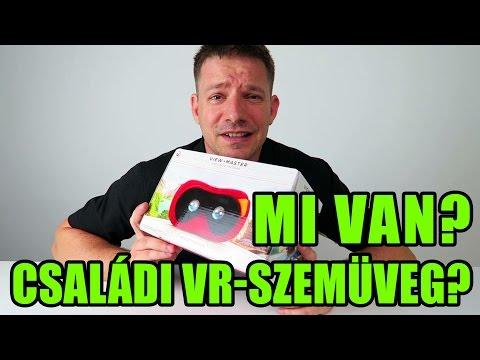 View-Master VR szemüveg gyerekeknek apával | Unboxing #1