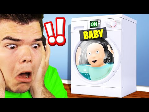 I WASHED MY BABY IN A DISHWASHER! (Who's Your Daddy 2) |