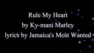 Rule My Heart - Ky-Mani Marley (Cure Pain Riddim)  2016 (Lyrics!!)