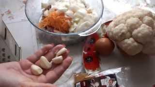 цветная капуста запеченная духовке в фольге рецепт приготовления