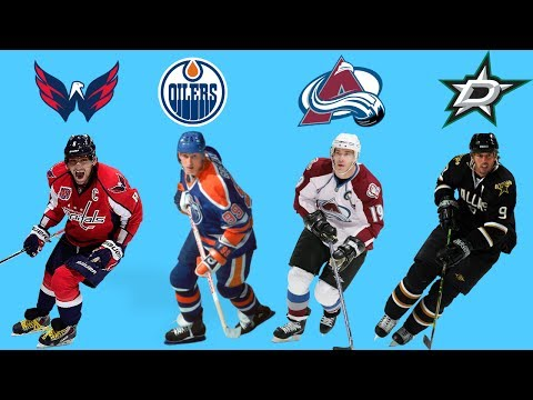 THE BEST PLAYER FROM EVERY NHL FRANCHISE!!!