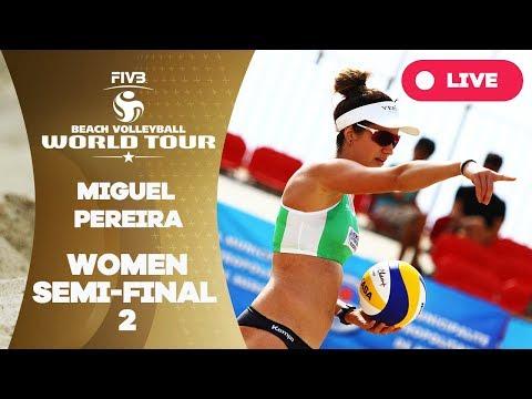 Miguel Pereira 1-Star - 2018 FIVB Beach Volleyball World Tour – Women Semi Final 2