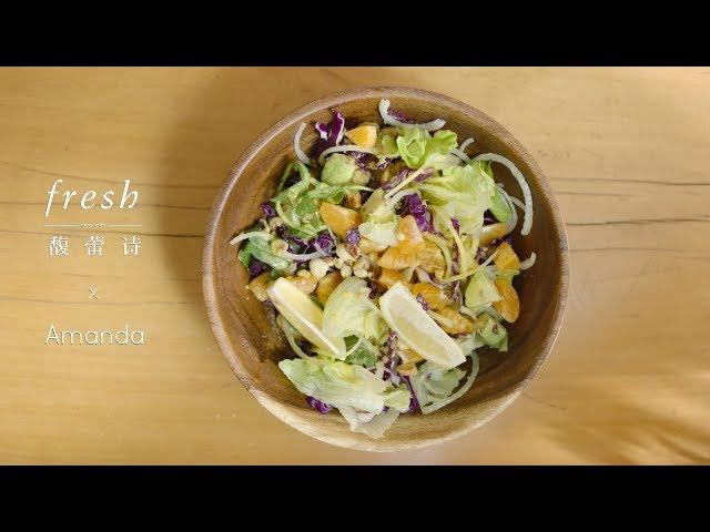 [Eng Sub] Orange Salad 一餐简单快手的果味轻食,幻醒你的夏日味觉 *4K