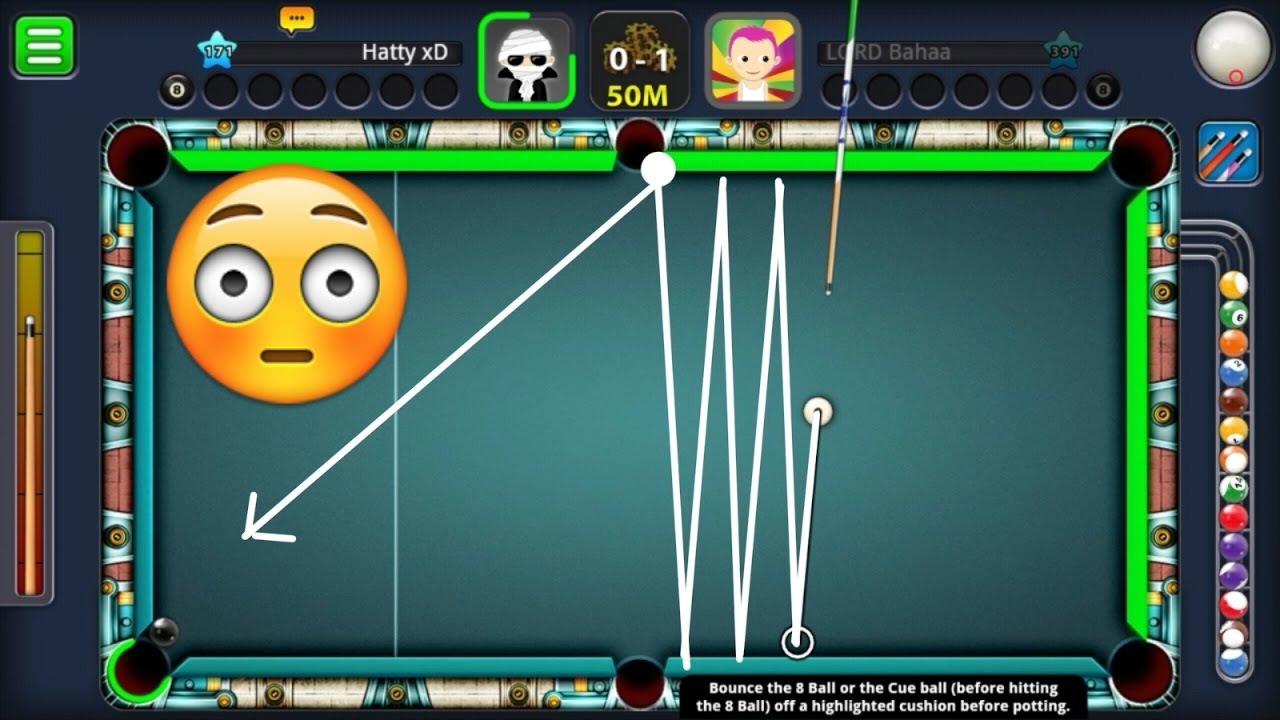 8 Ball Pool Best Trick Shot Ever | Did She Love Me??? | Giveaway Winner Announced!!! - YouTube